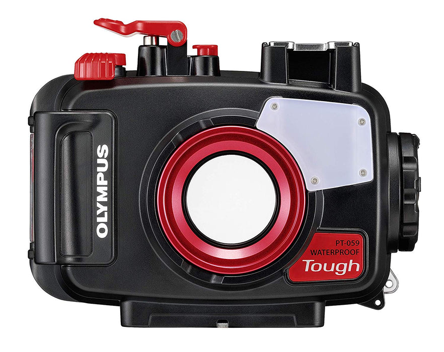 Olympus Underwater Housing for TG-6, PT-059 Camera / Red / Black