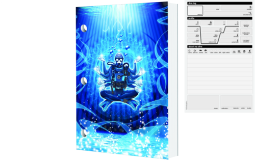 Innovative Dive Logz Budda Diver Log Book
