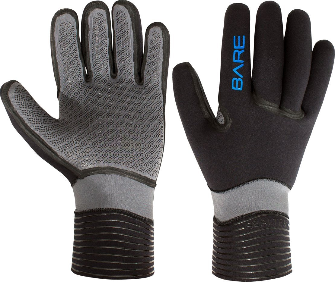 Bare Sealtek 3mm Gloves / Black / Gray / L - Dive Toy