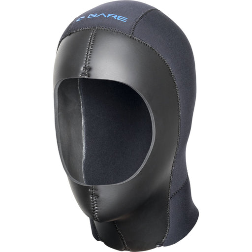 Bare 9mm ELASTEK Dry Hood / Black / 2XL