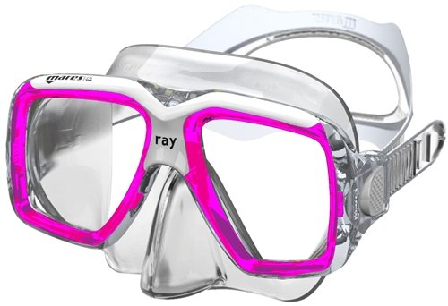 Mares Ray Mask / Pink / Clear