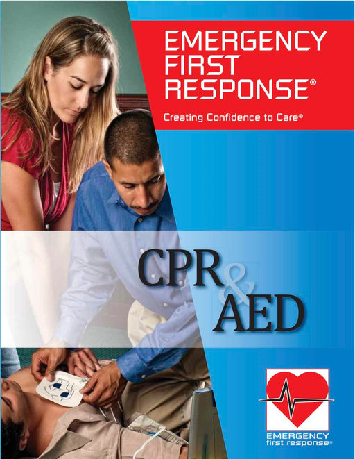 PADI EFR CPR and AED Course Participant Manual Educational Material