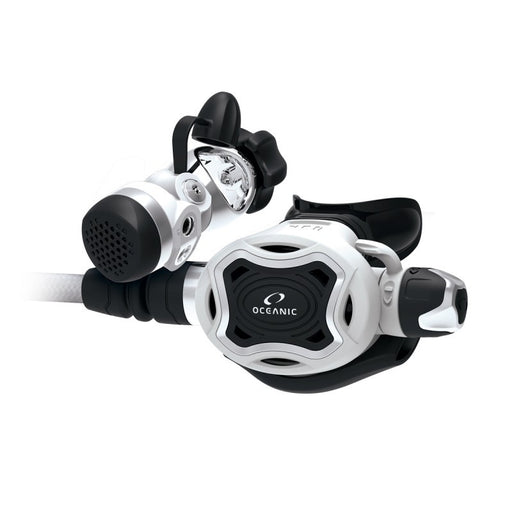 Oceanic ZEO + FDXi, Yoke, SWIV, WH Regulator / White / Black