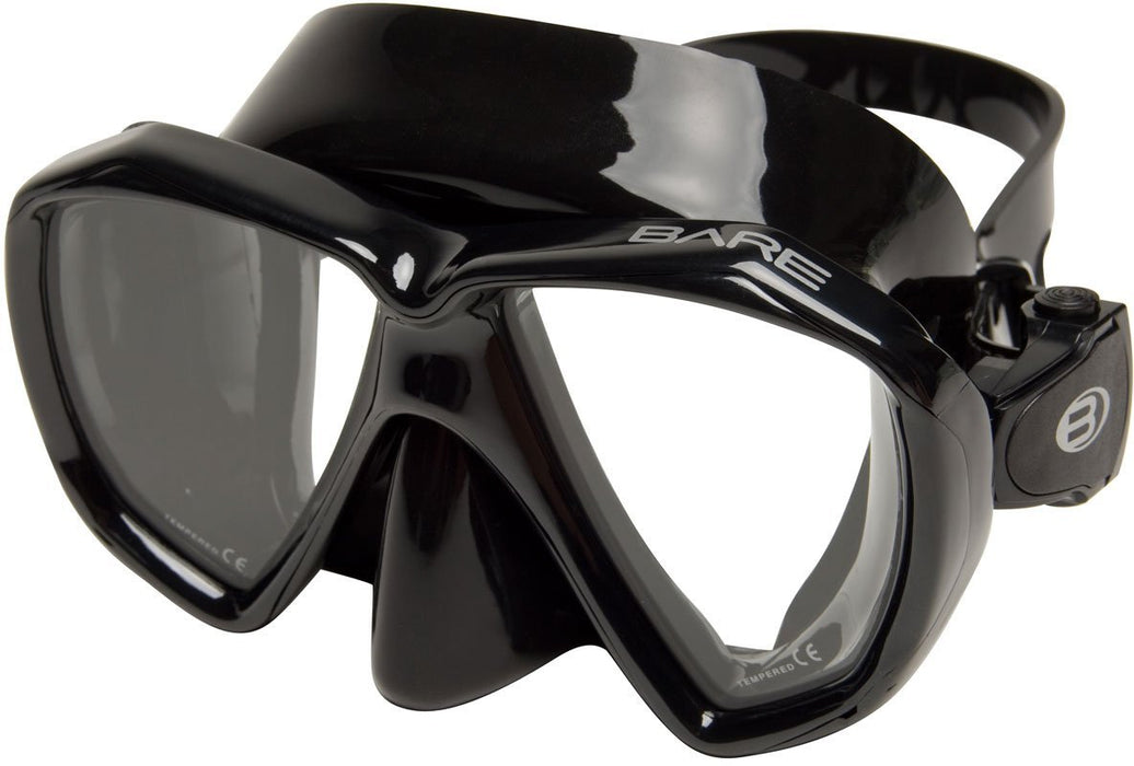 Bare Duo B Mask / Black / Black - Dive Toy