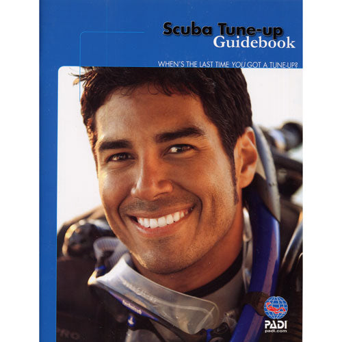 PADI Scuba Tune-Up Guidebook Educational Materials