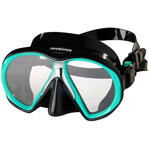 Atomic Subframe Mask / Aqua / Black