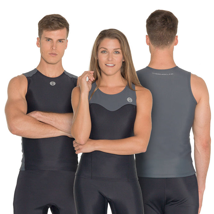 Fourth Element Thermocline Womens Vest Wetsuit / Black / 12