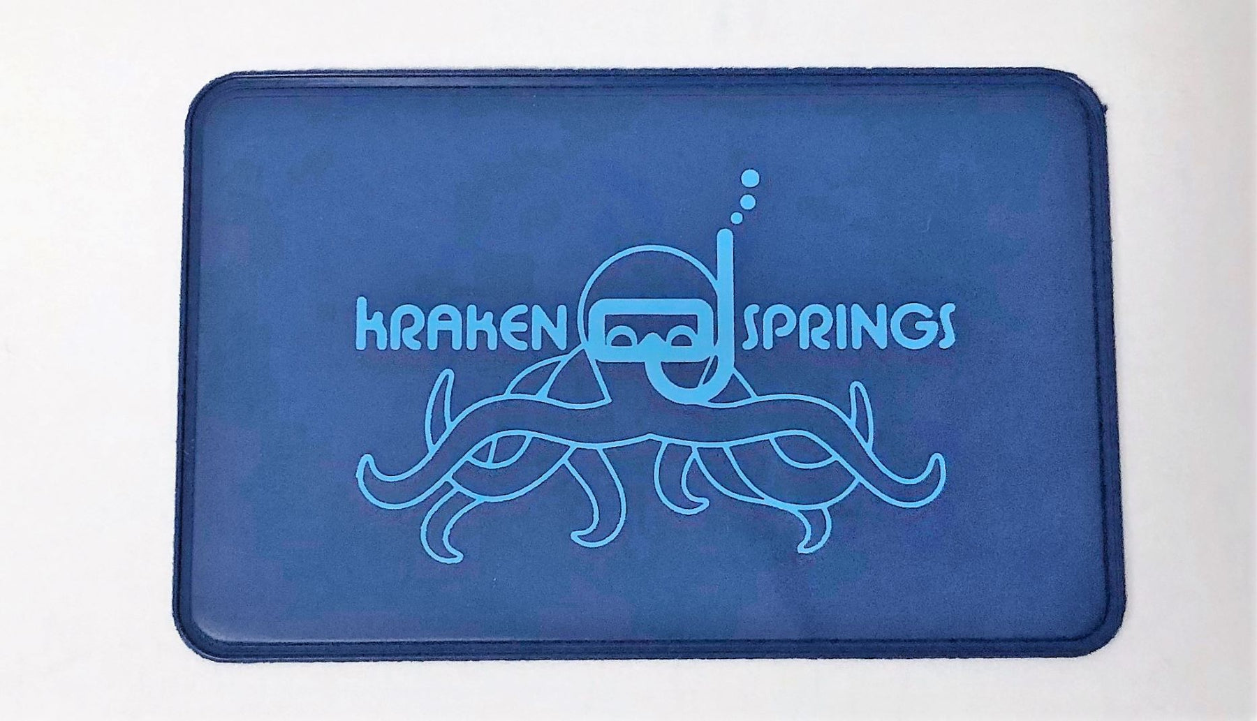 Wristband Specialty Kraken Springs Card Case Accessory / Blue / Light Blue
