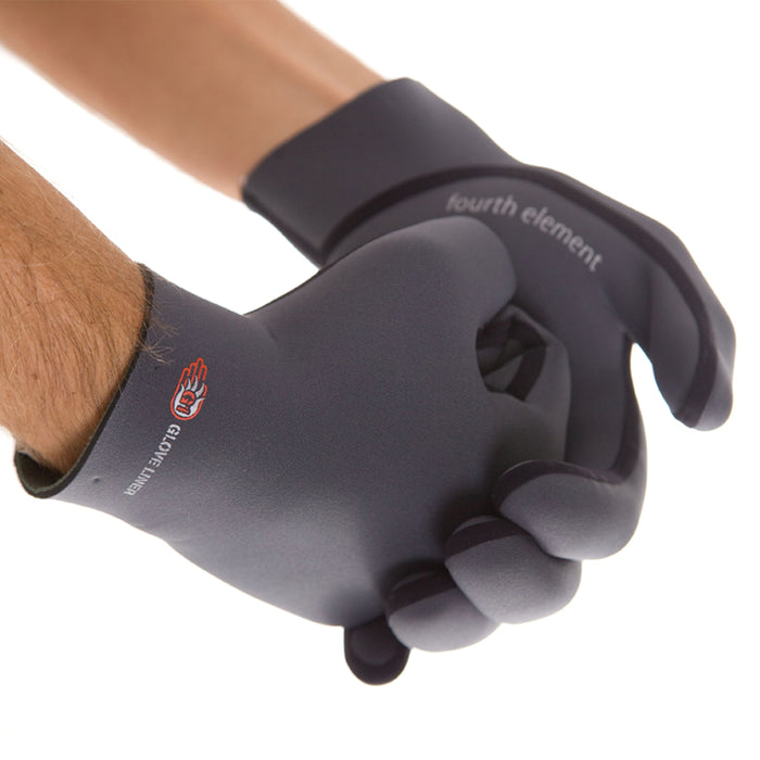 Fourth Element G1 Dry Glove Liner Gloves / Gray / M