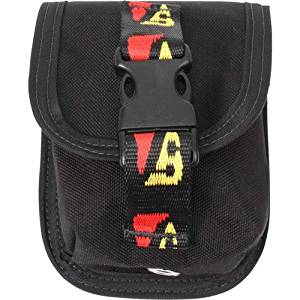 Dive Rite Weight Pocket - Travel 4 lbs Locking Version (Trim) BCD Accessory / Black / Black