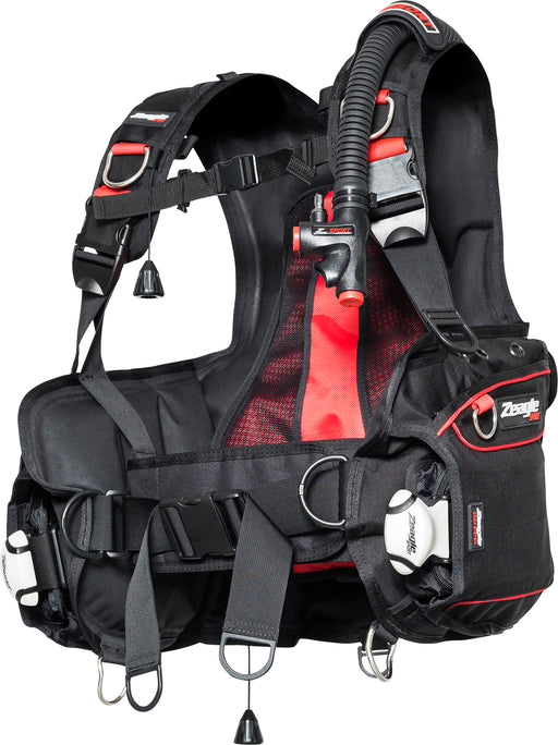 Zeagle Resort Plus w/Inflator and Hose BCD / Red / Black / M