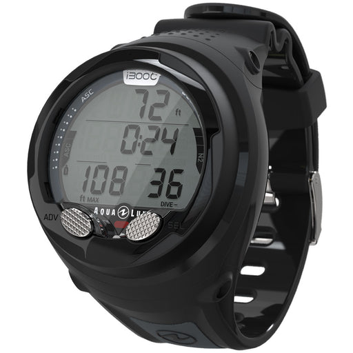 Aqua Lung i300C Computer / Gray / Black - Dive Toy