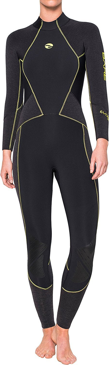 Bare 5mm Evoke Full Wetsuit Women / Black / 6+