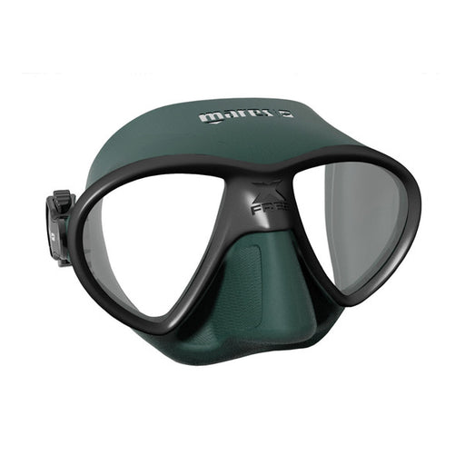 Mares X-Free Mask / Green / Black