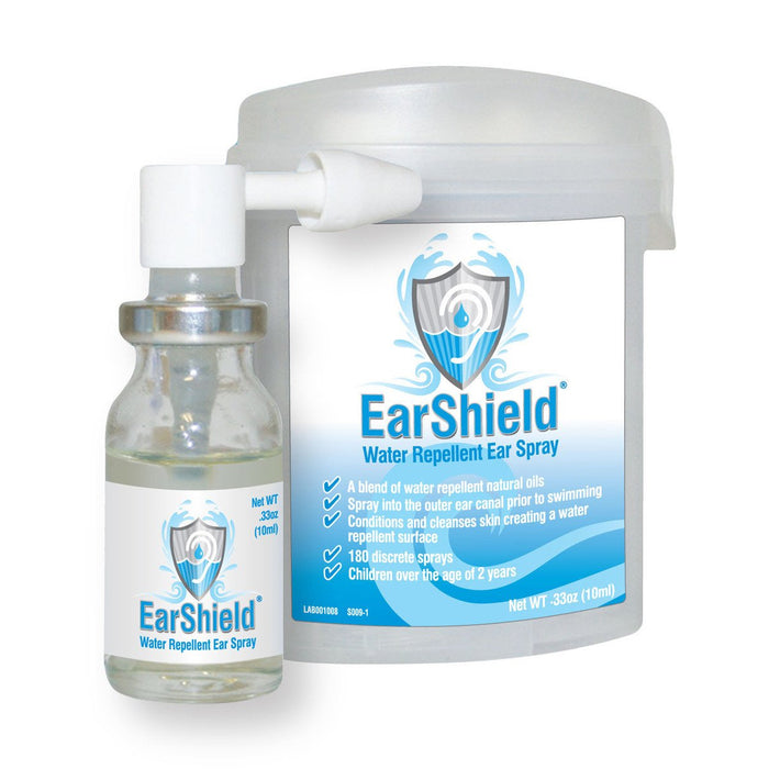 Dive 1st Aid EarShield Spray Accessory / White / Blue