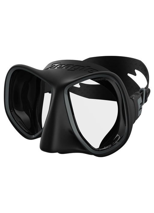 Zeagle Scope Dual Mask / Black / Gray
