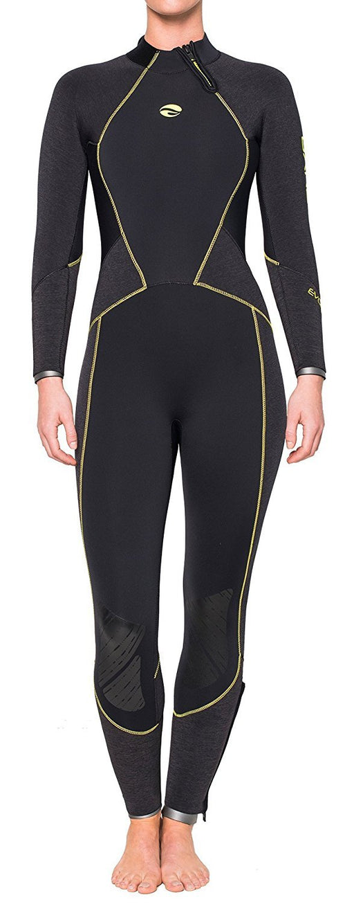 Bare 5mm Evoke Full Wetsuit Women / Black / 6T