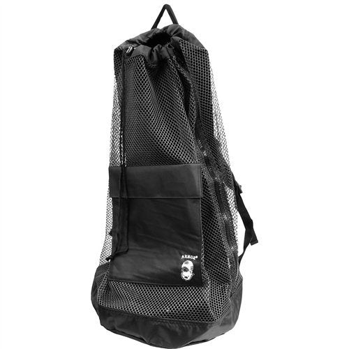 Armor Mesh Backpack  Bags / Black - Dive Toy
