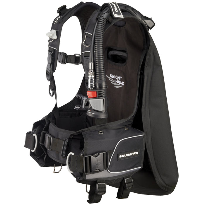 ScubaPro Knighthawk w/Air2  5th gen. BCDs / Black / L