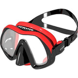 Atomic Venom Frameless Mask / Black / Red