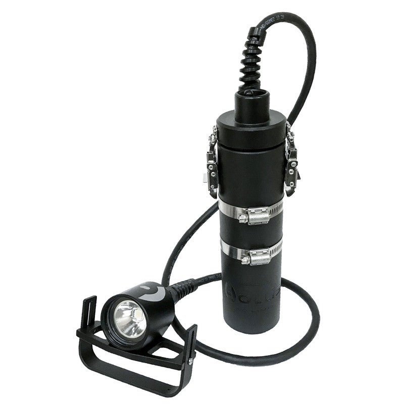Hollis LED1200 Canister Sys Light / Black