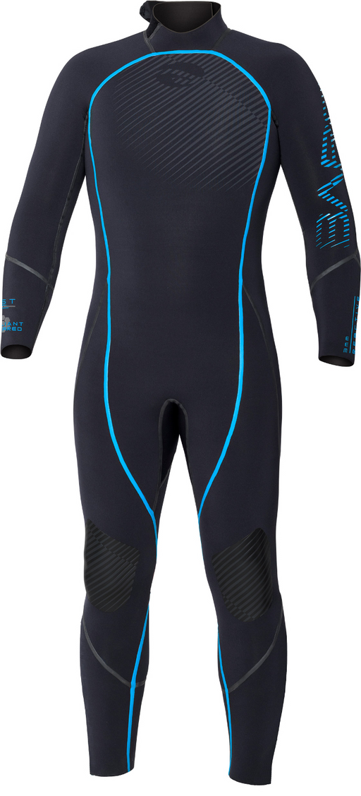 Bare 3mm Reactive Full Wetsuit Men / Blue / Black / L