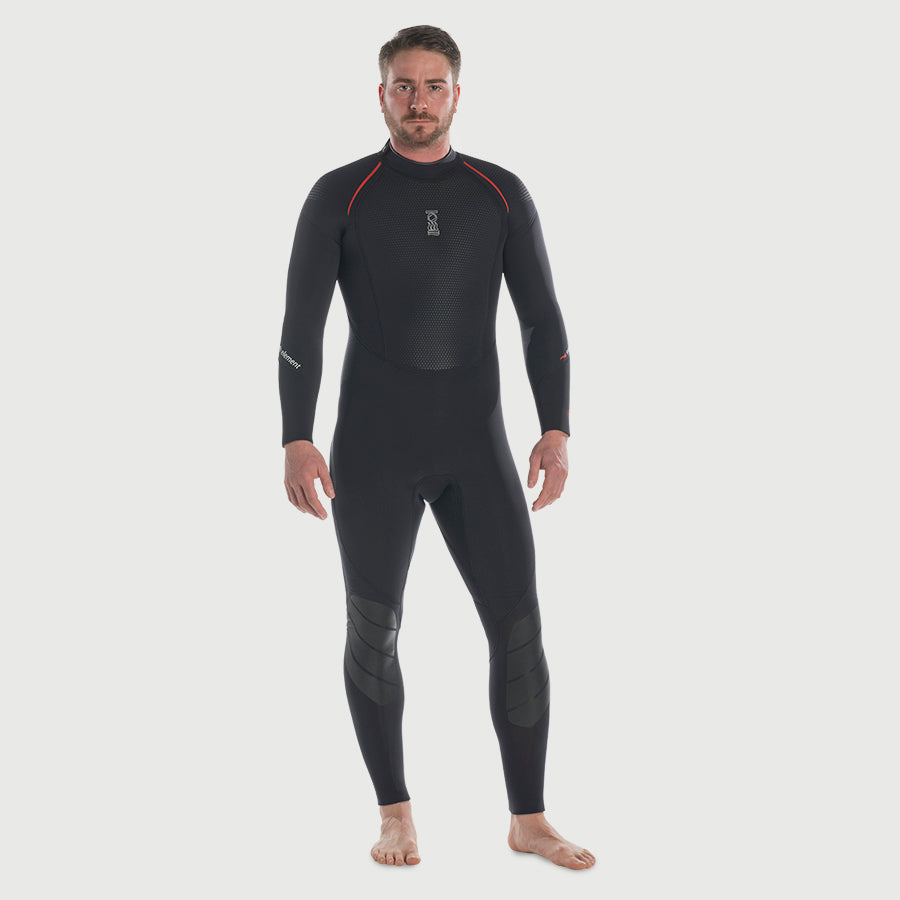 Fourth Element Proteus II 3MM Full Wet Suits Mens / Black / XXL - Dive Toy