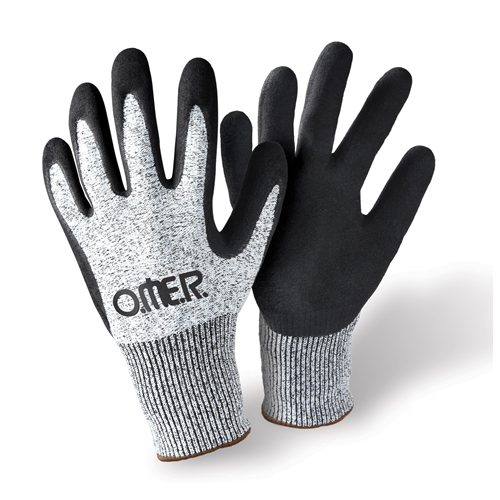 Omer Maxiflex w/Nitril Gloves / Gray / Black / L