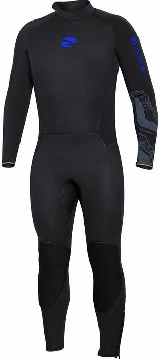 Bare 3mm Velocity Ultra Wetsuit / Blue / Black / 3XL
