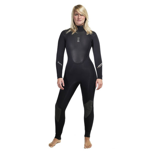 Fourth Element Proteus II 5MM Wetsuit Women / Black / Red / 14
