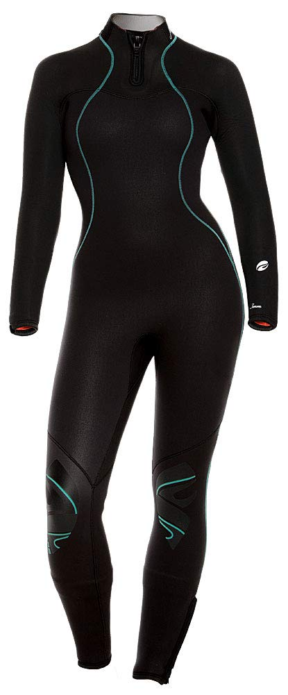 Bare 3/2 NIXIE ULTRA FULL Wetsuit / Aqua / Black / 14