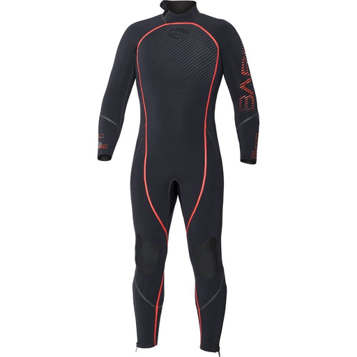 Bare 3mm Reactive Wetsuit / Red / Black / ML