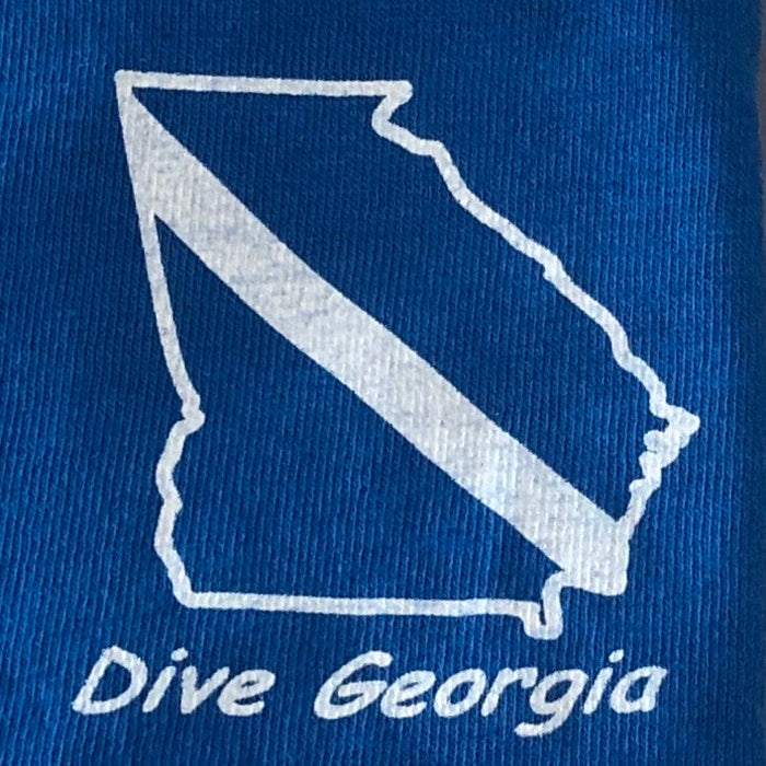 Dive Georgia Hammerhead SS Shirt / Tye Dye / Blue / XL