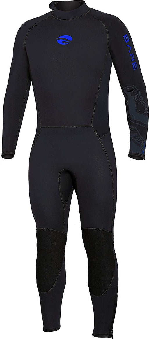 Bare 3mm Velocity Ultra Wetsuit / Blue / Black / XL