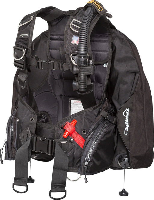 Zeagle Ranger W/ Rip Kit BCD / Black / XL