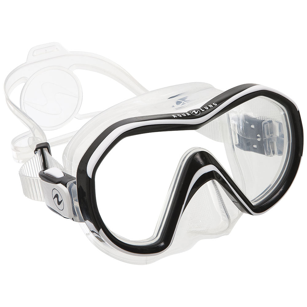 Aqua Lung Reveal Mask / White / Clear - Dive Toy