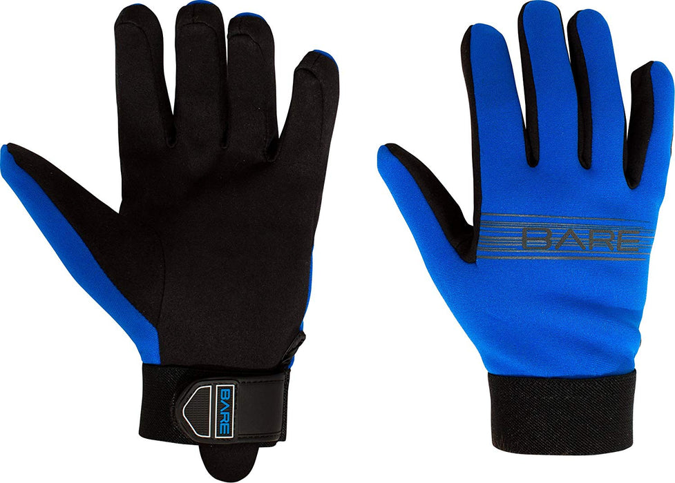 Bare 2mm Tropic Sport Gloves / Blue / XS