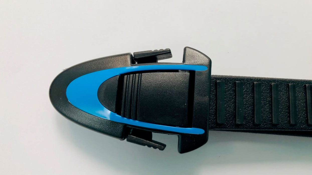 Atomic BladeFin Straps Fins Accessory / Blue / Black / S/M