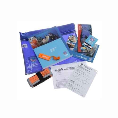 PADI Advanced Open Water Crewpack w/SMB & Whistle Educational Material