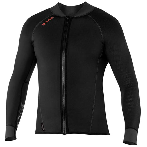 Bare EXOWEAR Jacket Mens Undergarnment / Black / XXL