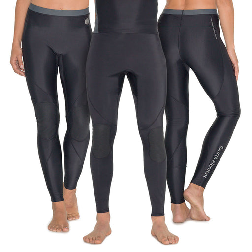 Fourth Element Thermocline Womens Leggings Wetsuit / Black / 10