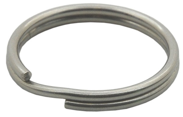 Marine Diving SS Split Ring 1'' Clip / Silver / Silver / 1''