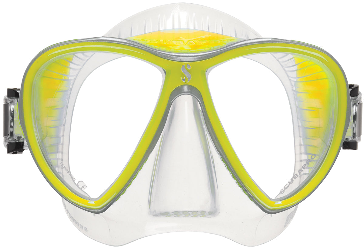 Scubapro Synergy 2 Twin Mask / Clear / Yellow