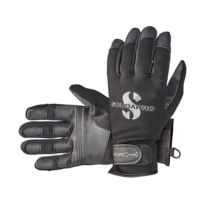 Scubapro Tropic 1.5mm Gloves / Black / XL