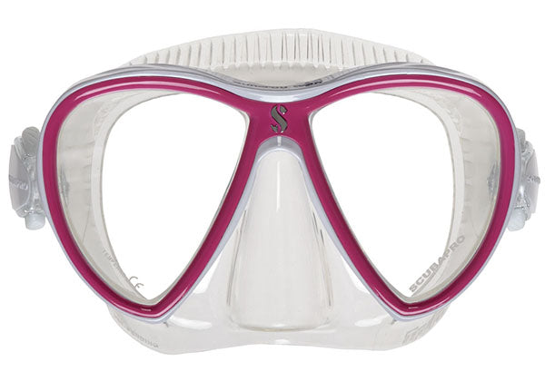 Scubapro Synergy 2 Twin Mask / Clear / Pink
