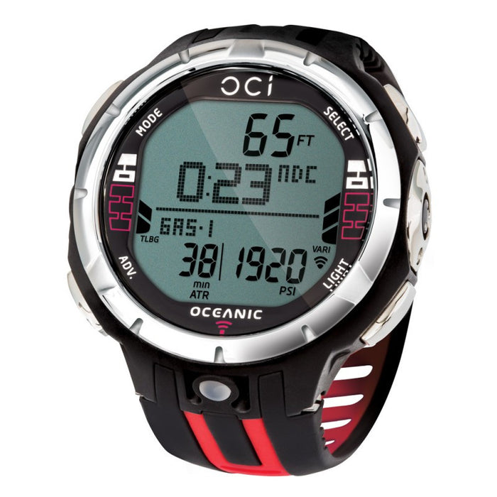Oceanic OCi Complete w/ Transmitter Computer / Black / Red