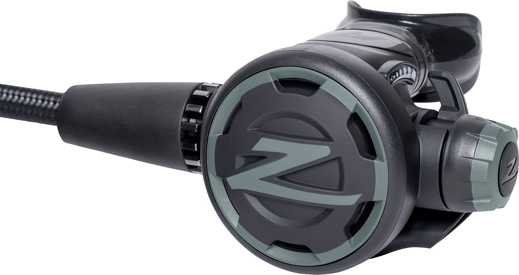 Zeagle F8 Yoke Regulator / Gray / Black