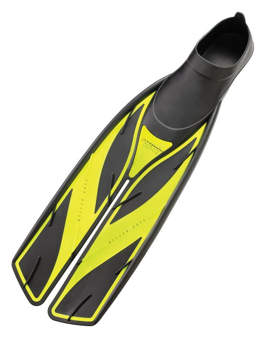 Atomic Full Foot Fins / Yellow / Black / 9-10 - Dive Toy