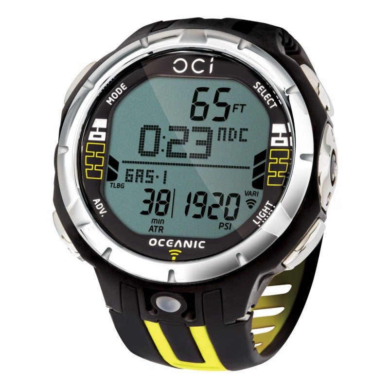 Oceanic OCi Complete w/ Transmitter Computer / Black / Yellow