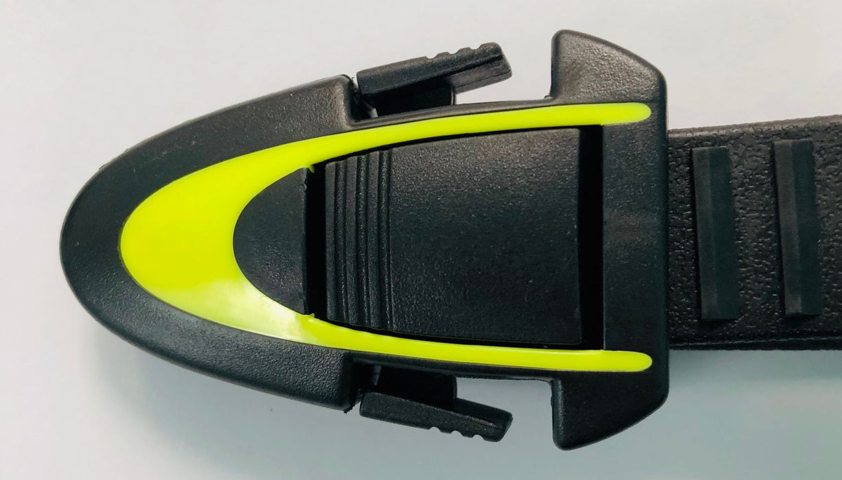 Atomic BladeFin Straps Fins Accessory / Yellow / Black / S/M